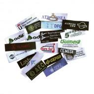 Etiqueta textil personalizada