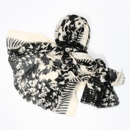 Foulard mixto estampado D&L